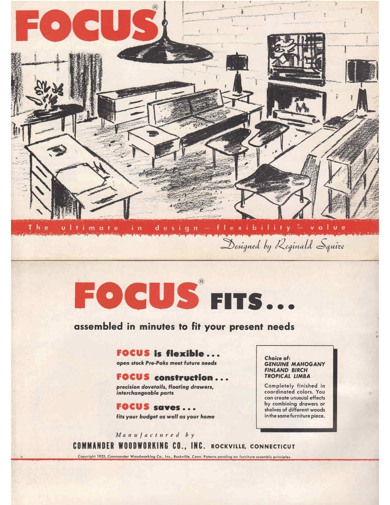 Focus Brochure cover
