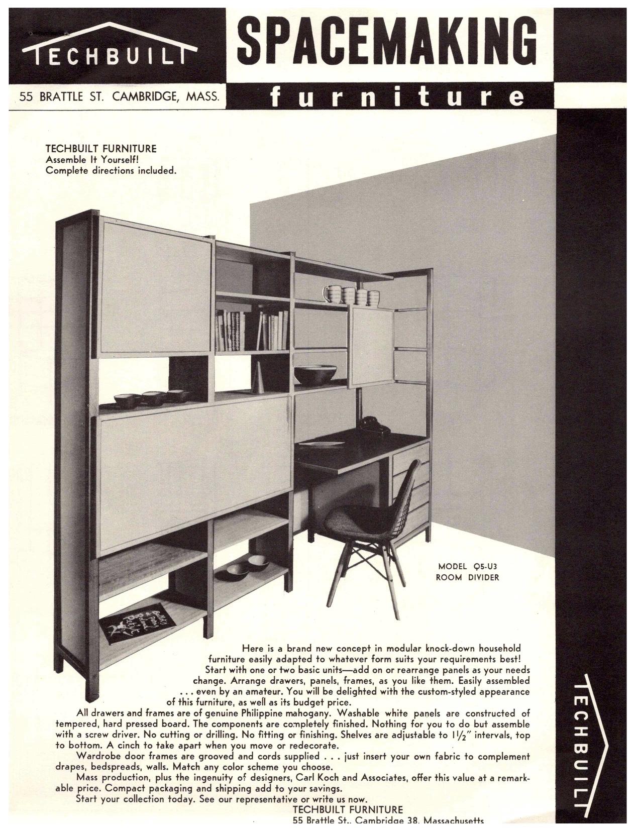 Techbuilt Furniture Front